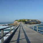 Bridge across to Bare Island near La Perouse (308159)