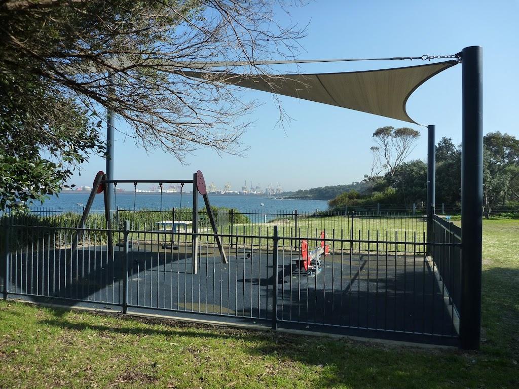 Children's playground near La Perouse
