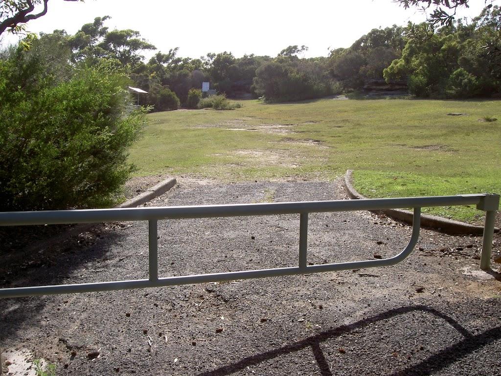 Oval above top carpark Wattamola