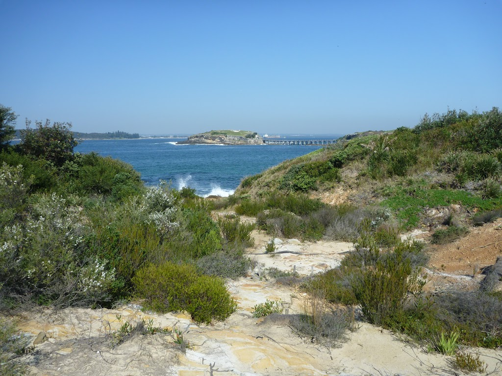 View from Little Congwong beach track, near La Perouse