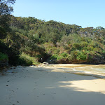 Southern end of Little Congwong Beach, near La Perouse