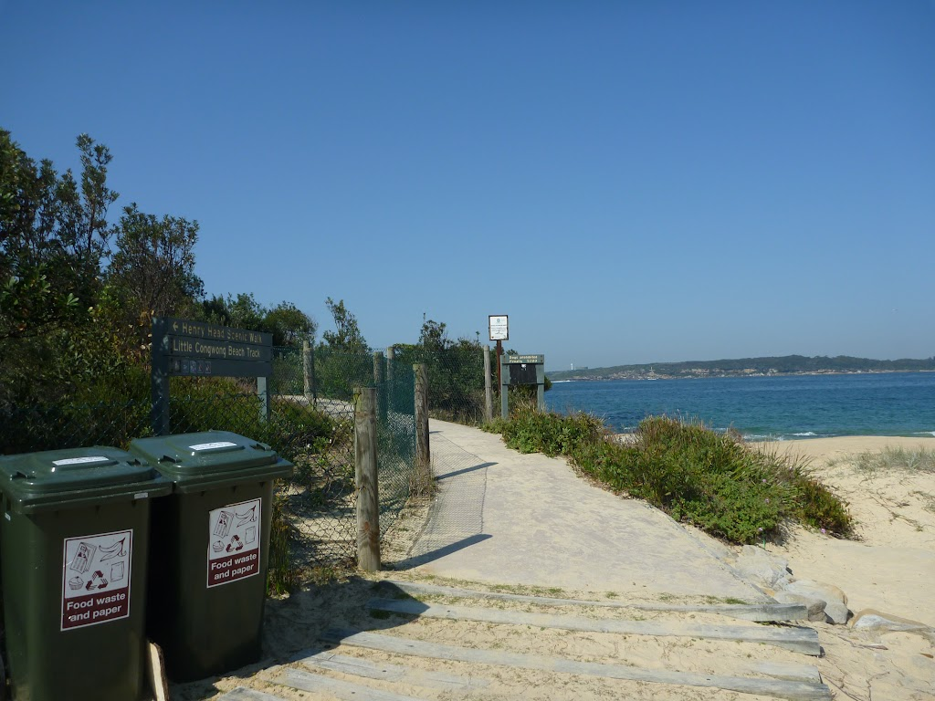 Track to Little Congwong Beach, near La Perouse
