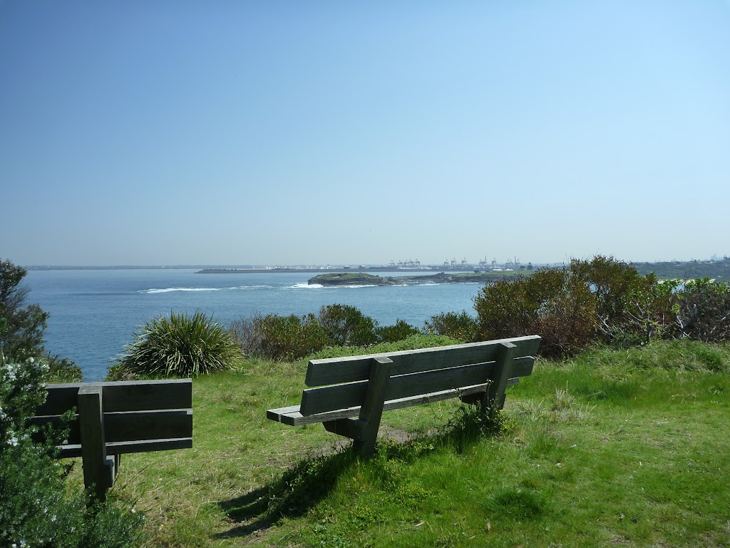 Seats at Henry Head, near La Perouse