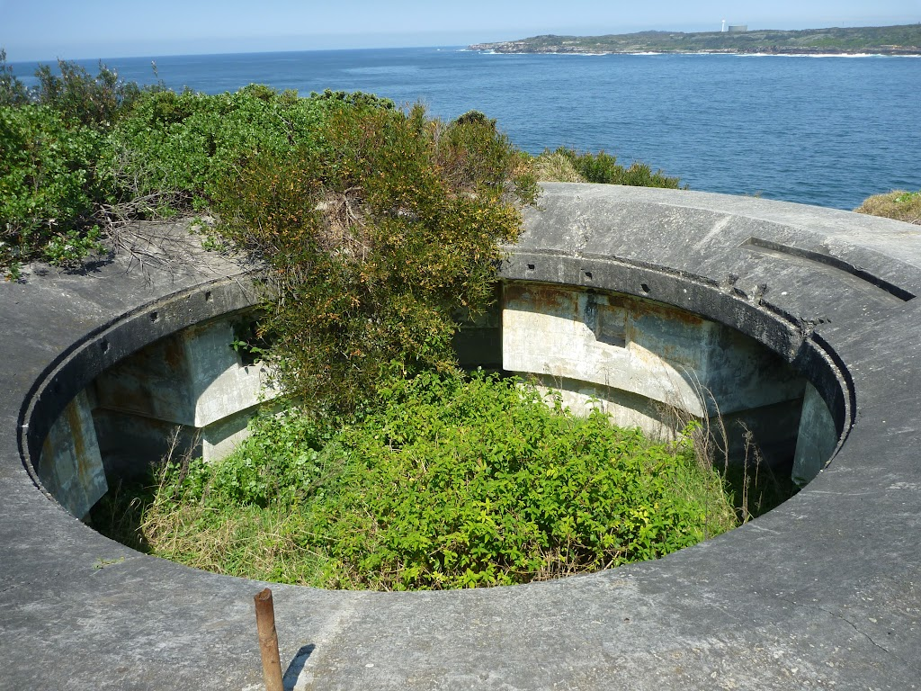 Battlements on Henry Head