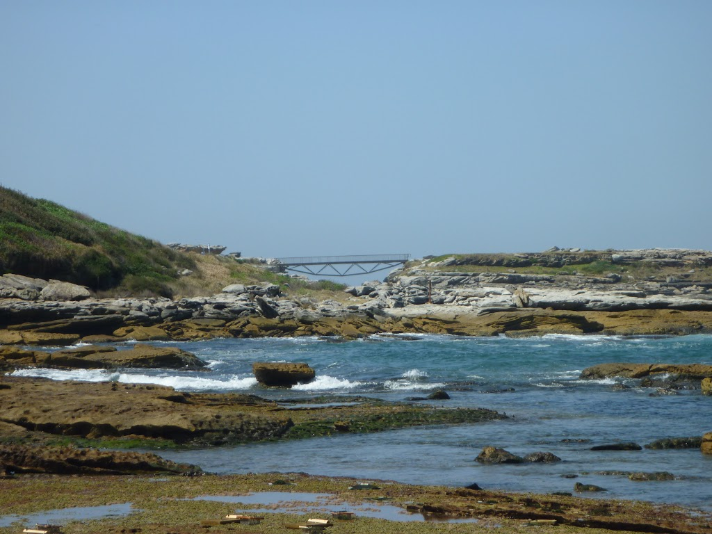 Cruwee Cove, looking towards bridge and Cape Banks