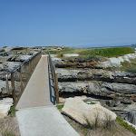 Metal bridge over to Cape Banks (310127)