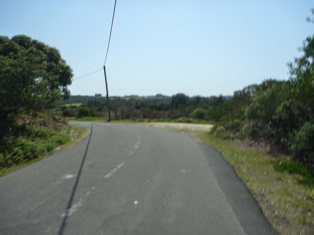 Road near coastal cemetary