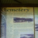 Coastal Cemetery sign near Botany Bay National Park (310520)
