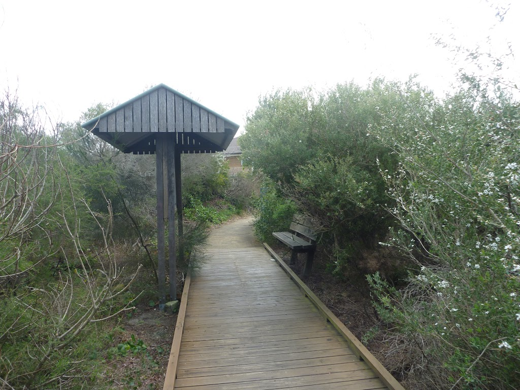 Jennifer Street Boardwalk and shelter