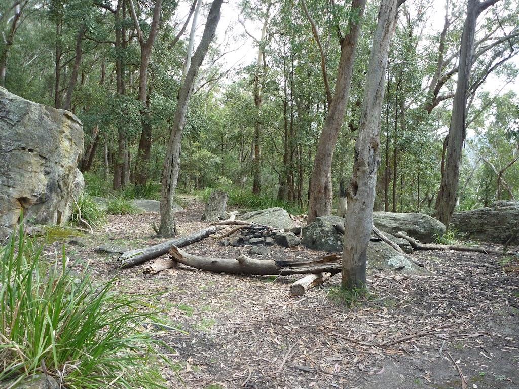 Ruined Castle mine campsite