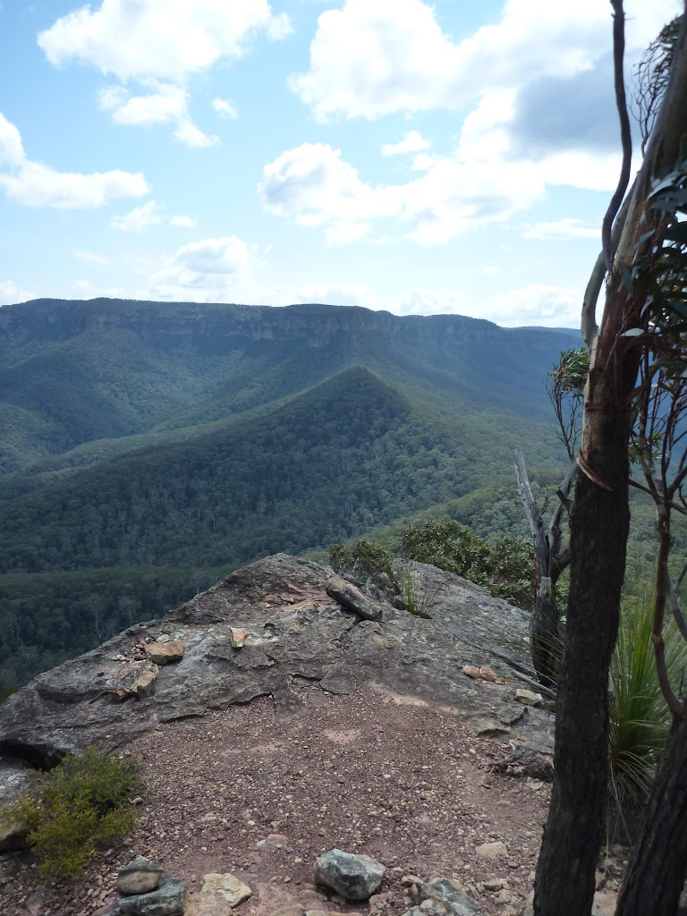 View from near the top of the Korrowall Knife-edge