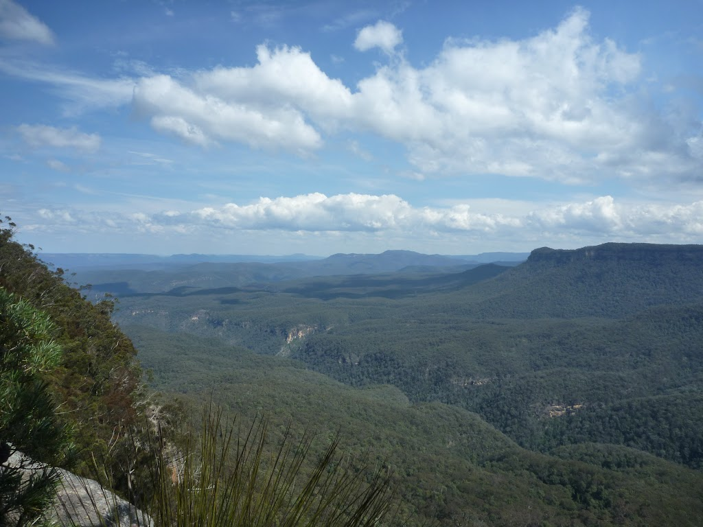 View over Cedar Creek valley from Mount Solitary