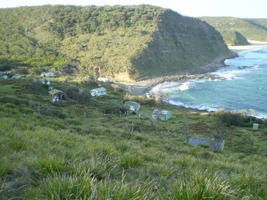 Garie Beach from southern headland