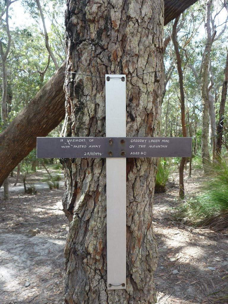 Memorial at Chinamans Gully (314528)