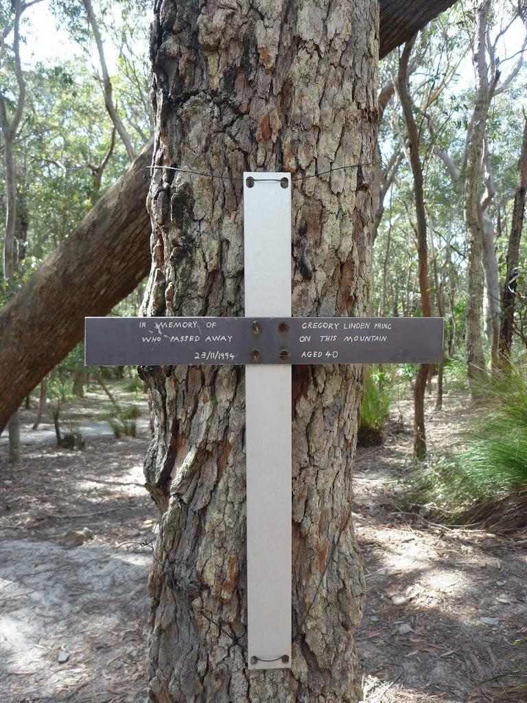 Memorial at Chinamans Gully