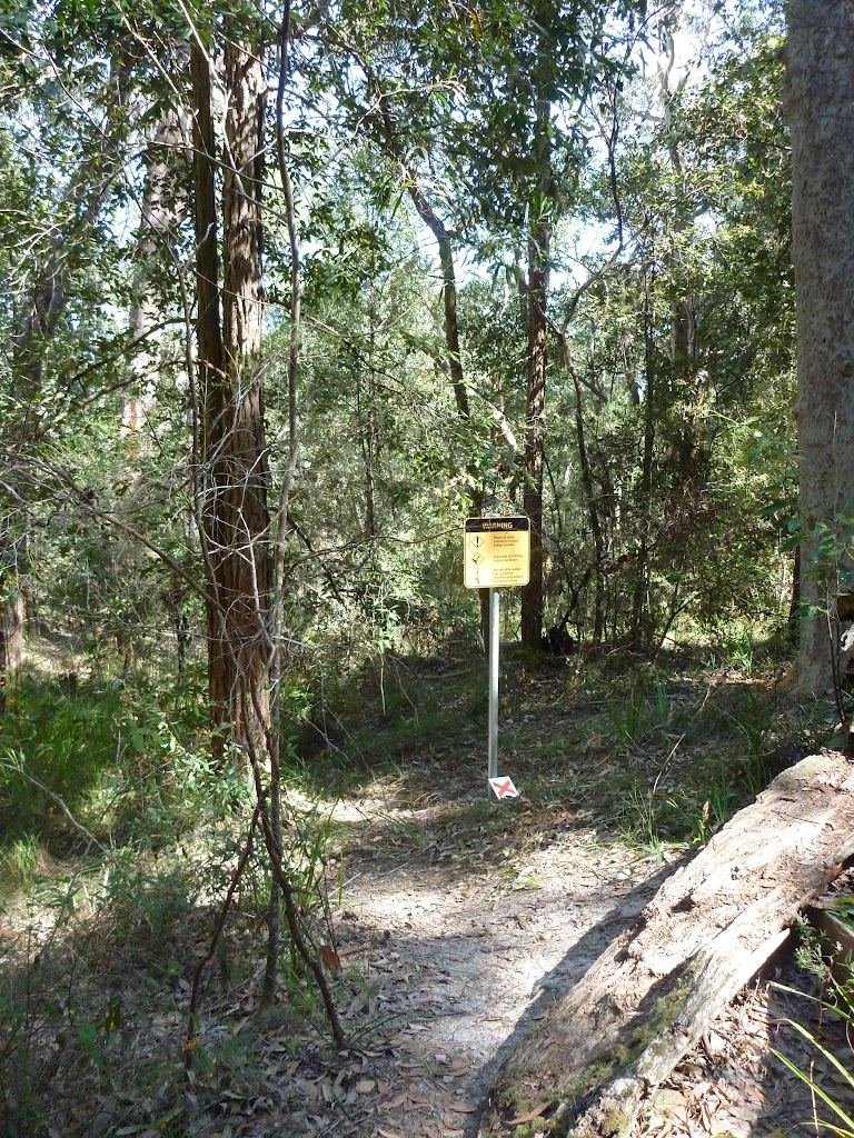 Remote area warning sign