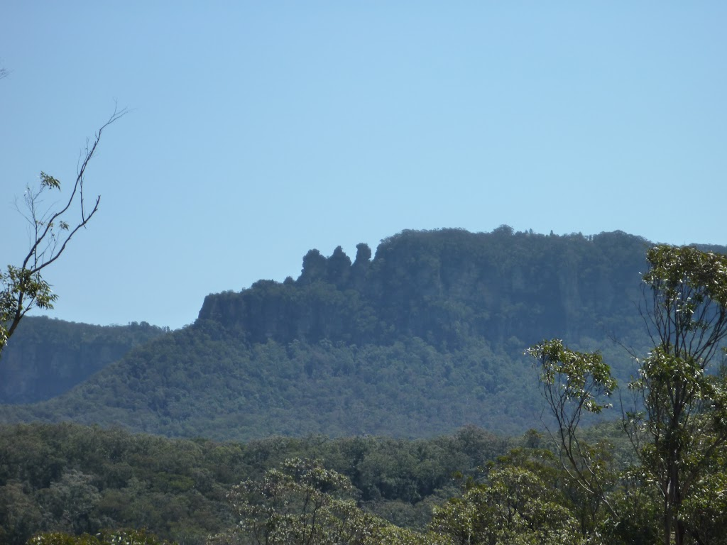 The back of the Three sisters from the Sublime Point Trail