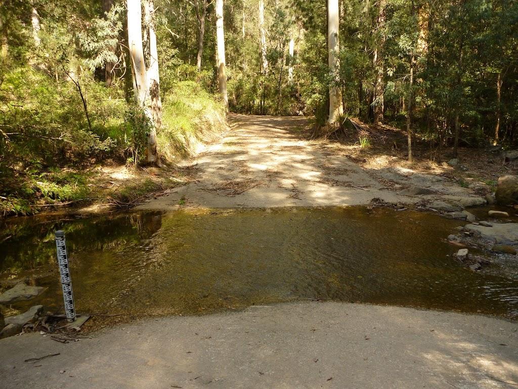 Sublime Point Trail Crossing of Leura Falls Creek