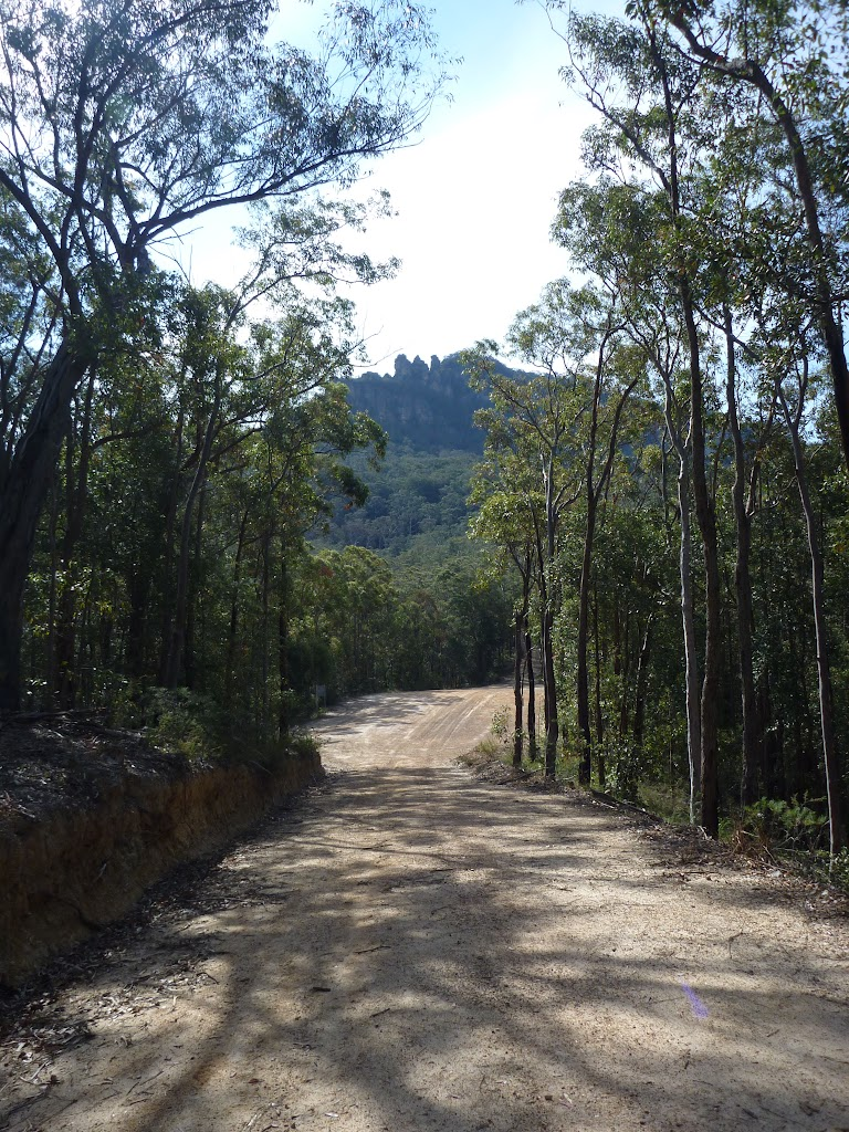 Sublime Point Trail west of Leura Falls Creek