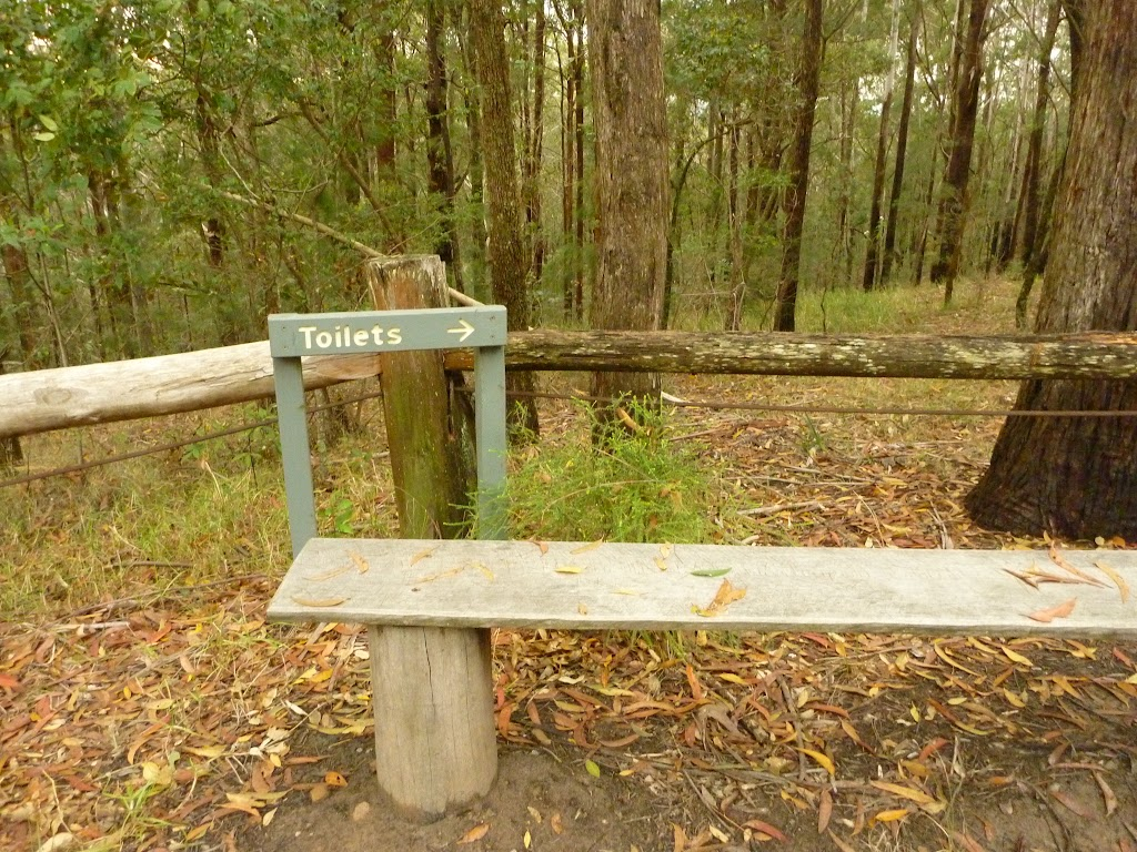 Sign at Muirs Lookout near cooranbong (320024)