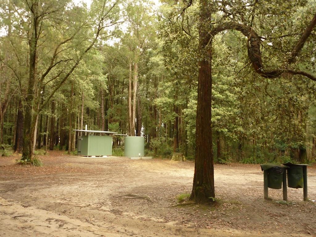 Toilet block at Cauuarina campsite in the Watagans