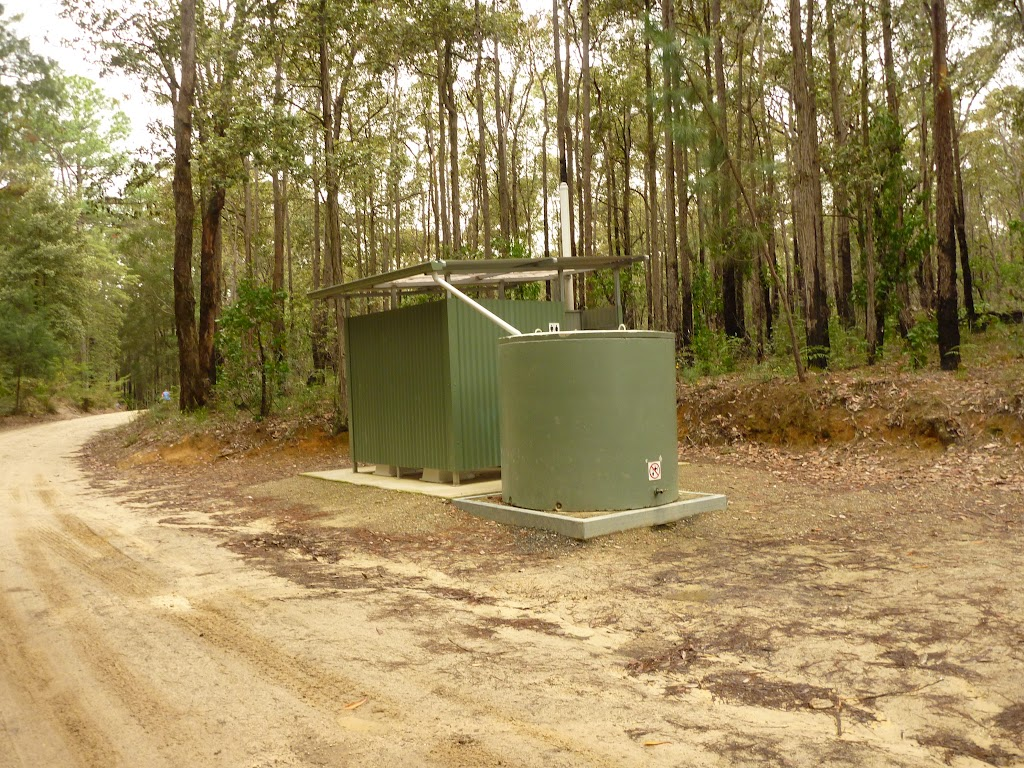 Toilet block at the Pines picnic area in the Watagans