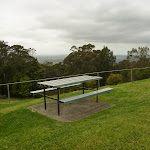 Picnic table at Mt Sugarloaf car park near Newcastle (324056)