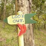 Track marker near the Mt Sugarloaf summit (324107)