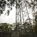 Fenced tower near the Mt Sugarloaf summit (324140)