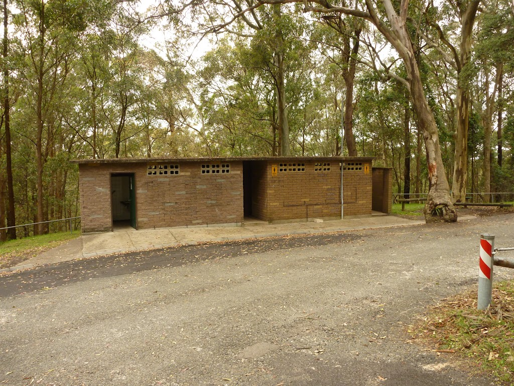 Toilet block near the Mt Sugarloaf car park