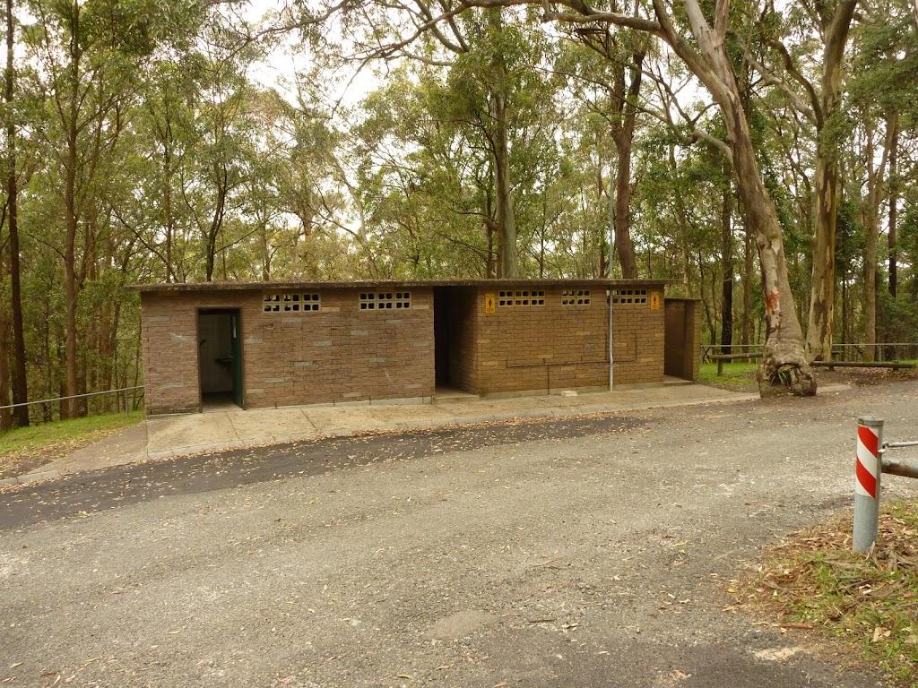 Toilet block near the Mt Sugarloaf car park