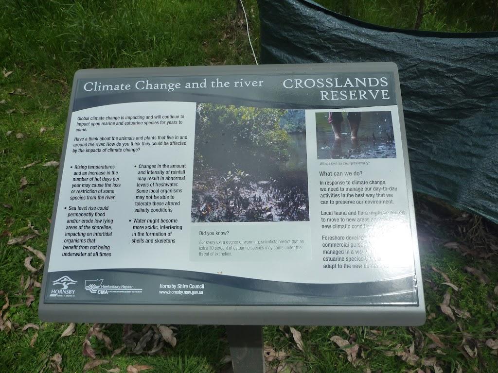 Plenty of information signs at Crosslands