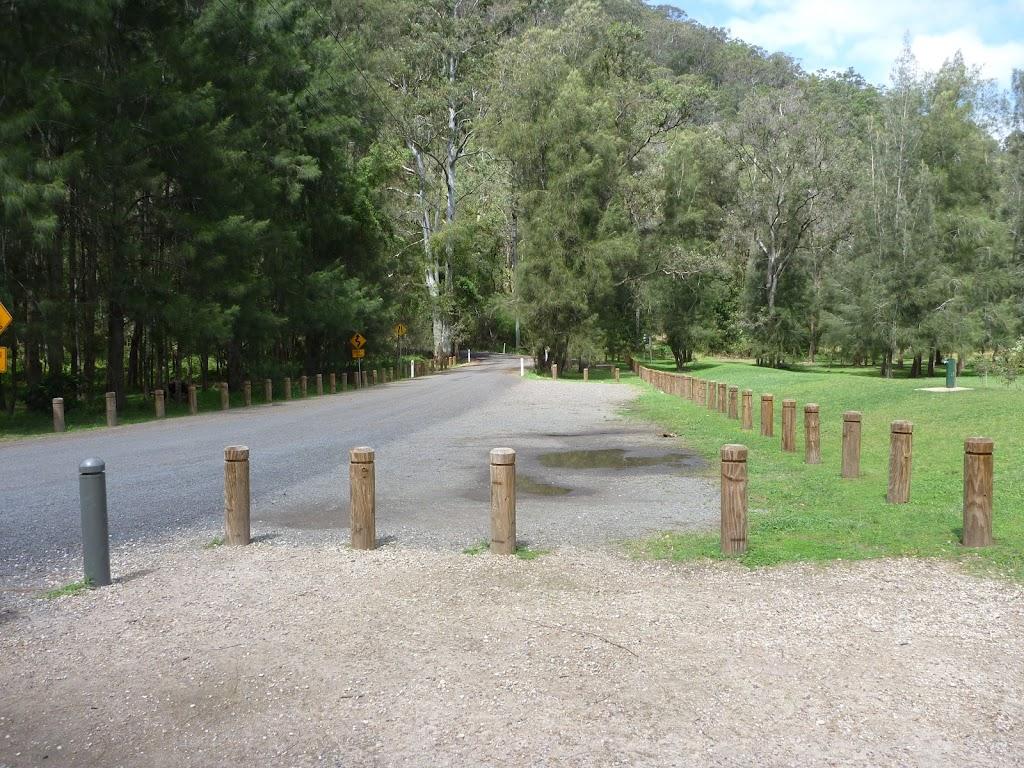 Car park at Crosslands