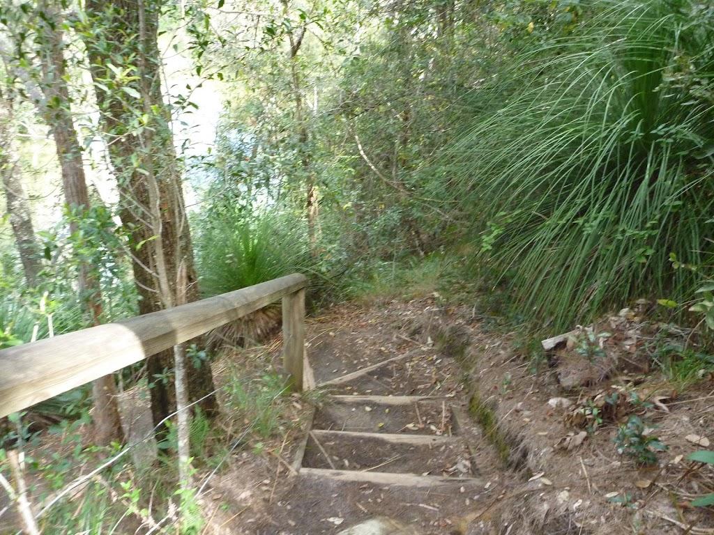 Steps west of Calna Creek