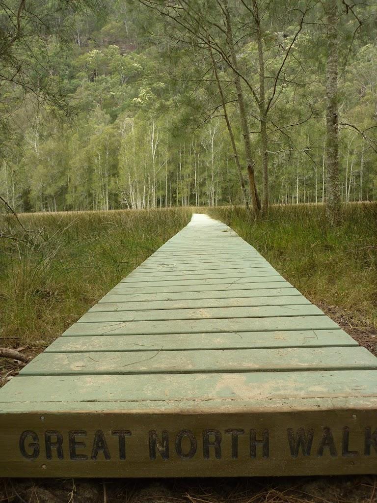 Board walk near Calna Creek