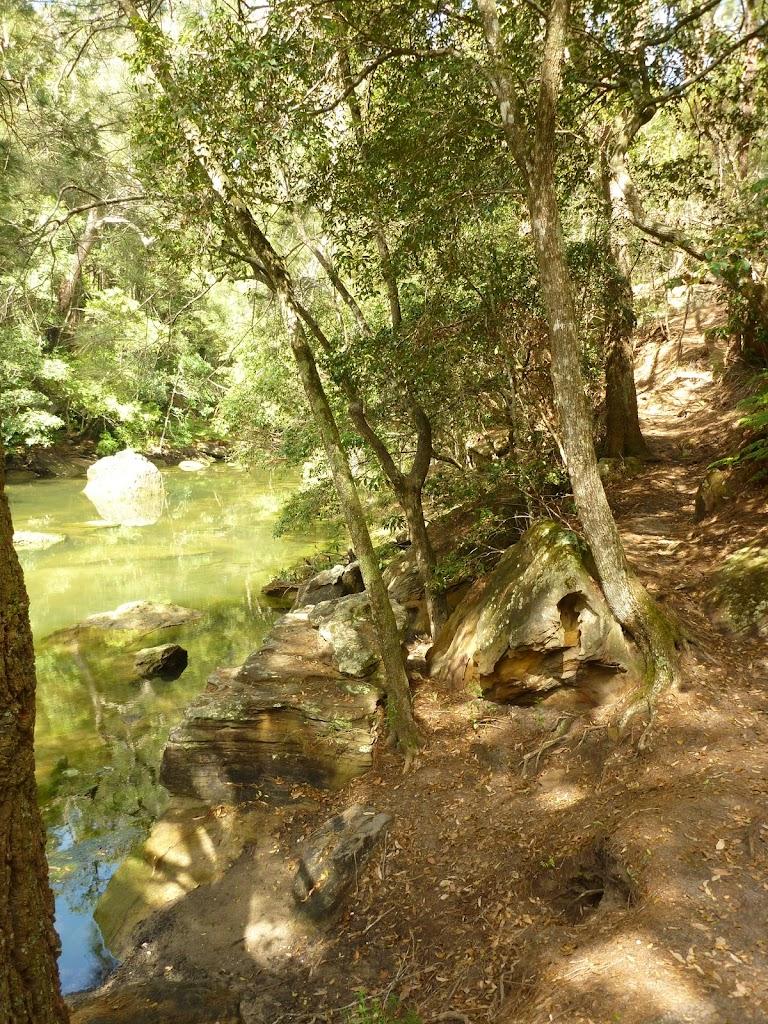 Beside Sams Creek