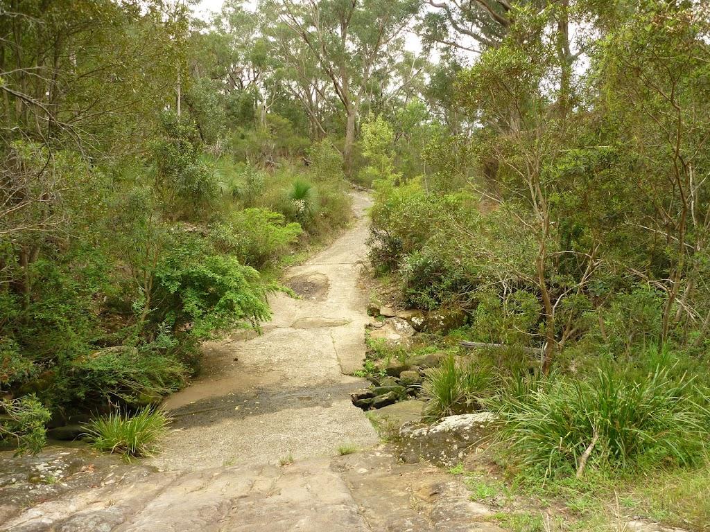 Crossing Berowra Creek just near the Jungo