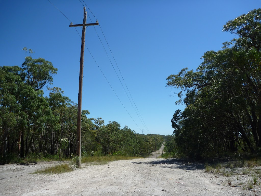 service road for telegraph and phone line maintenance