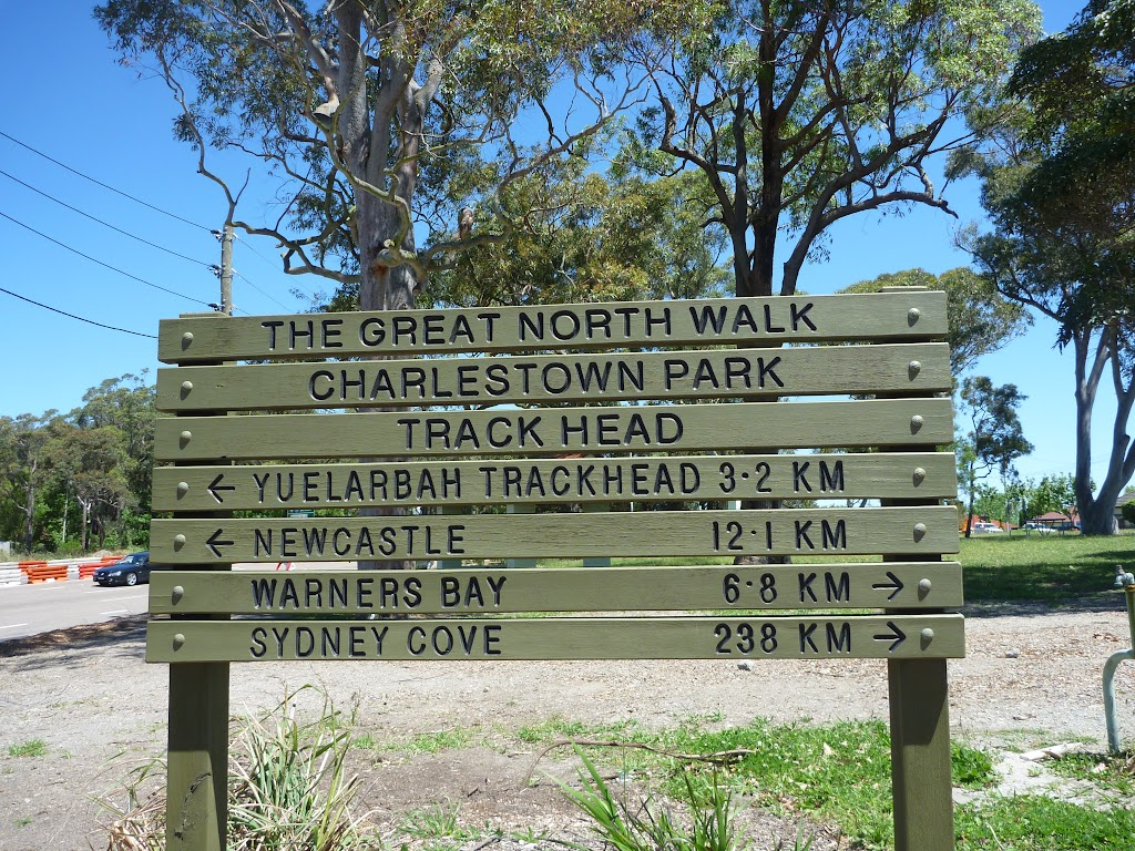 Charlestown Park Track head sign (337609)