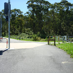 Great North Walk sign to Newcastle on Burwood Road