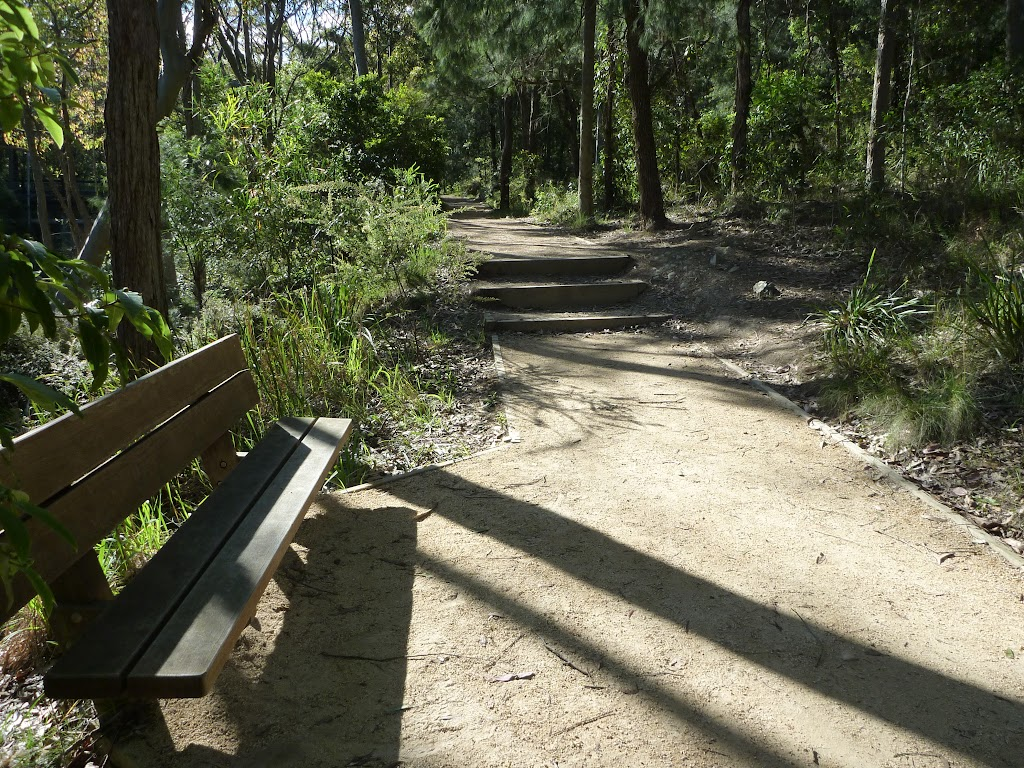 Nice place to rest beside Flaggy Creek on the Yuelarbah Walking Track