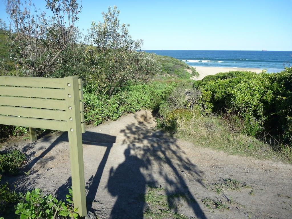 GNW sign beside the ocean