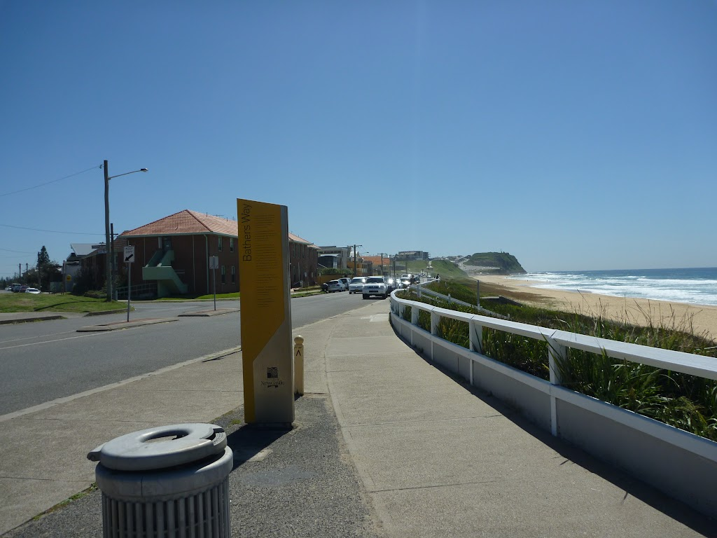 Looking north towards Merewether Beach