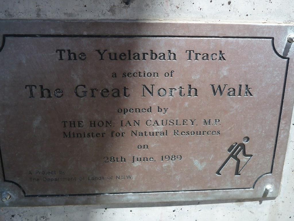 Yuelarbah Track Plaque
