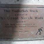 Yuelarbah Track Plaque (341713)