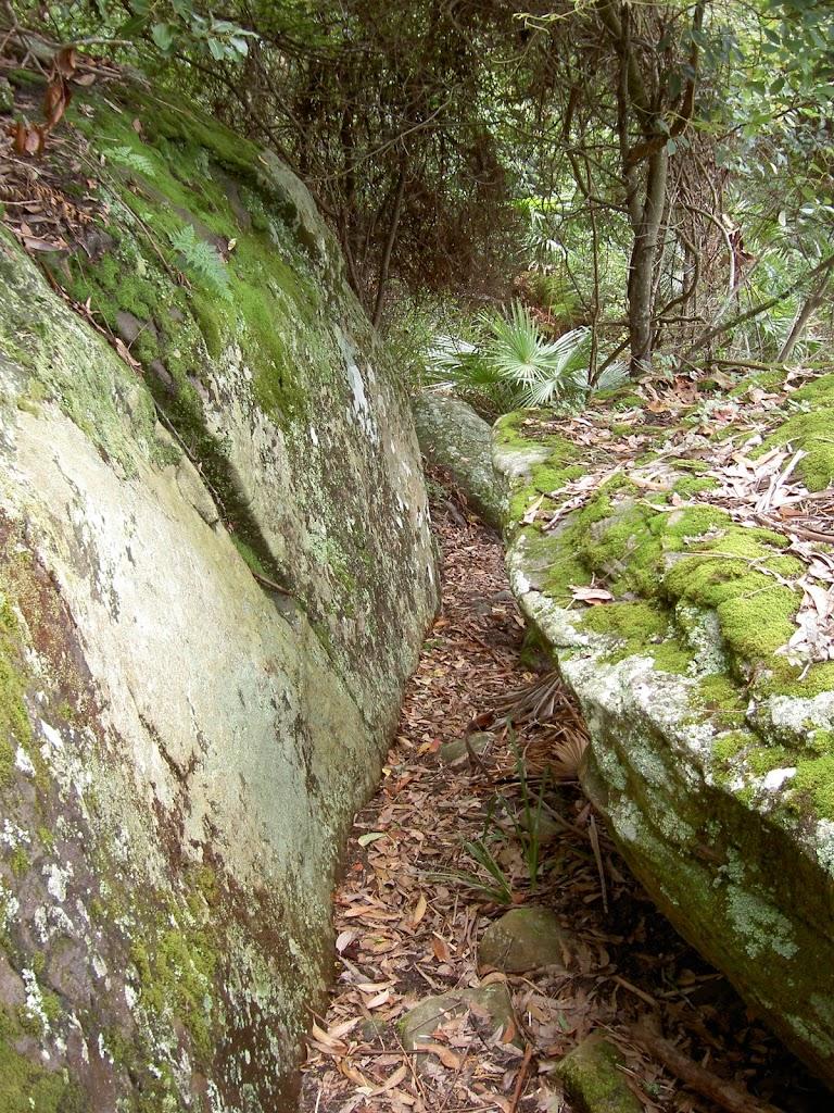 Rocks on Stockyard Spur track