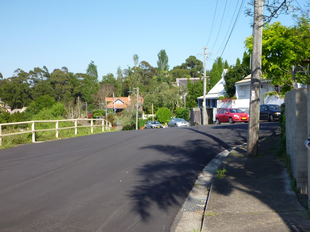 Walking along Edgecliff Rd (342499)