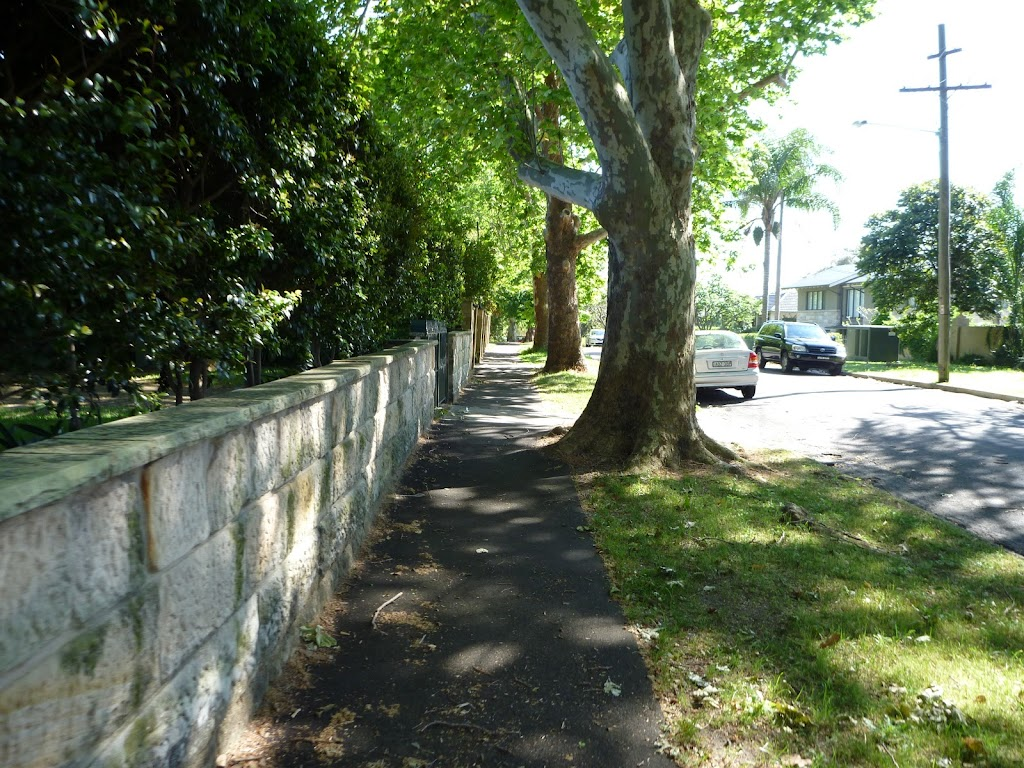 Walking along Passy Ave (343174)