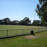 playing oval at Boronia Park