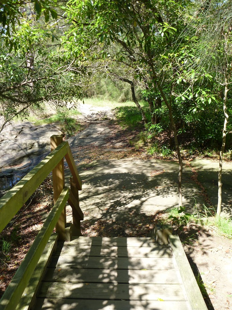 Timber Boardwalk at Brickmakers Creek